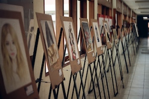 Course Image Art Exhibition and Diversity Wall