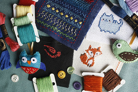 Course Image Embroidery or Patchwork