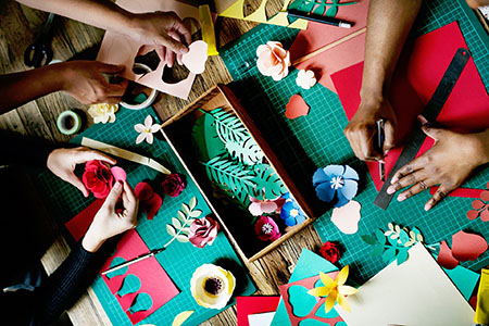 Course Image Card making and Scrapbooking Friendship Group